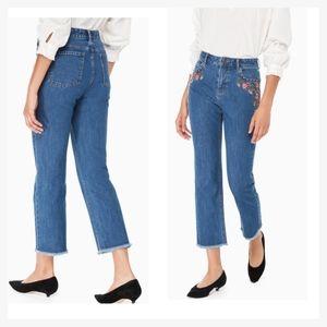 Kate spade high waist jeans